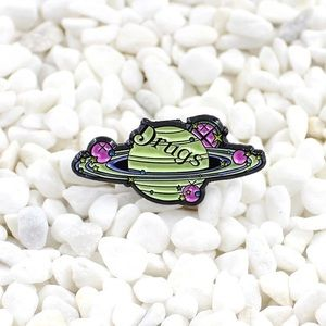 Planet Drugs Enamel Pin